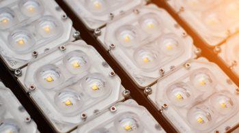 close-up lighting LED panel selective focus